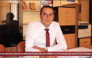 Un primar din Caraș-Severin asfaltează 53 de strză prin PNDL 2, cu 10 milioane de euro! Și nu e membru PSD!