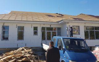 Stadiul lucrărilor la grădinița cu program normal din cartierul Nufărul (MFA)